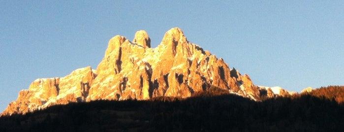 Val di fiemme is one of Dove sciare.