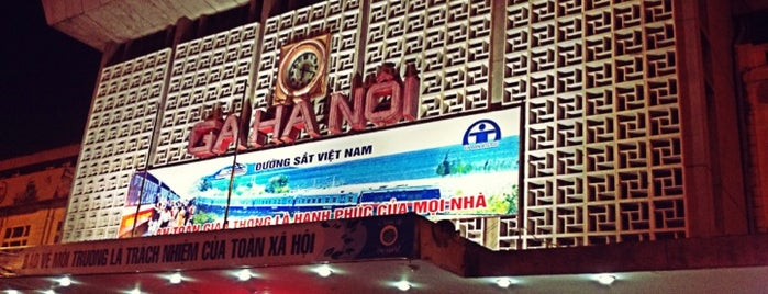 Ga Hà Nội (Hanoi Train Station) is one of ハノイ.