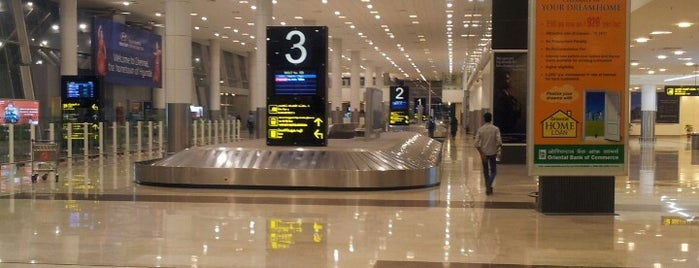 Chennai Domestic Terminal (MAA) is one of Airports.