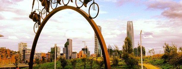 Parque Bicentenario is one of Santiago <3.