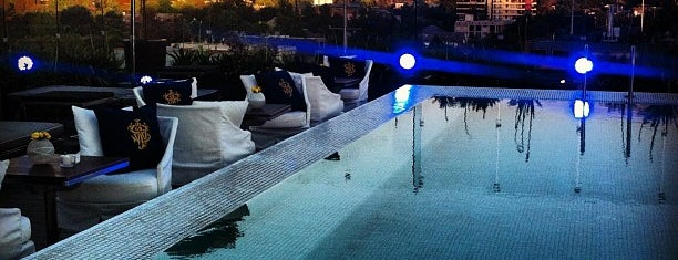 Tramonto Bar & Terrace @noihotels is one of santiago, chile.