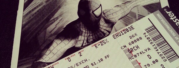 Spider-Man: Turn Off The Dark at the Foxwoods Theatre is one of Great Venues To Visit....