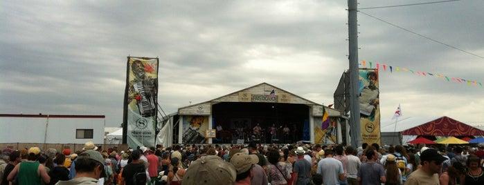 Sheraton New Orleans Fais Do-Do Stage is one of Tempat yang Disukai Julianna.