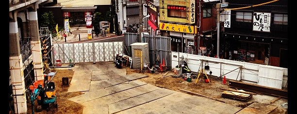 Asakusa Line Nakanobu Station (A03) is one of Lugares favoritos de 高井.
