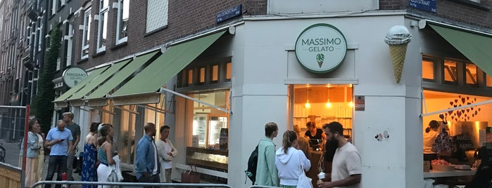 Massimo Gelato is one of Philipp's Amsterdam.