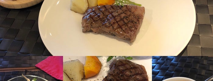 Steak&Lounge JB is one of 行った(未評価).