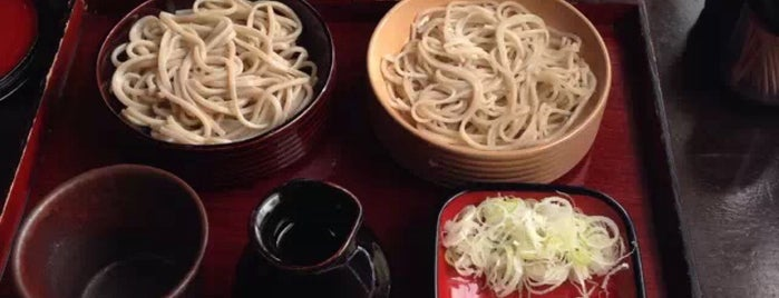 一茶庵本店 is one of 足利.