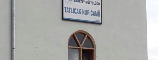 Tatlıcak Nur Camii is one of Konya Karatay Mescit ve Camileri.
