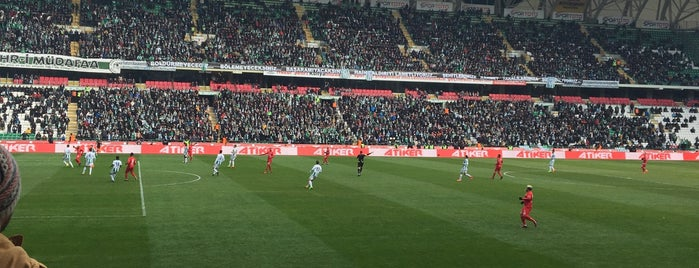Konya Büyükşehir Stadyumu is one of Check-in 4.