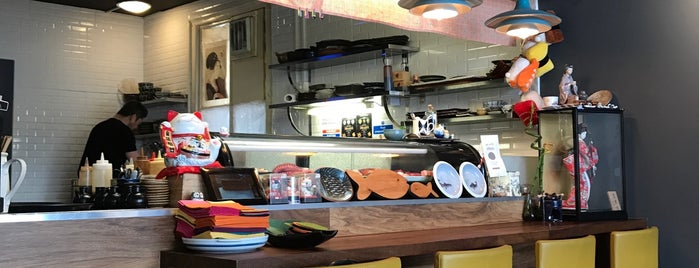 Obon - Sushi & Udon is one of My London List.