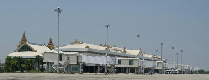 Mandalay International Airport (MDL) is one of Airports.