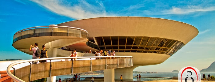 Museu de Arte Contemporânea de Niterói (MAC) is one of 建築マップ.