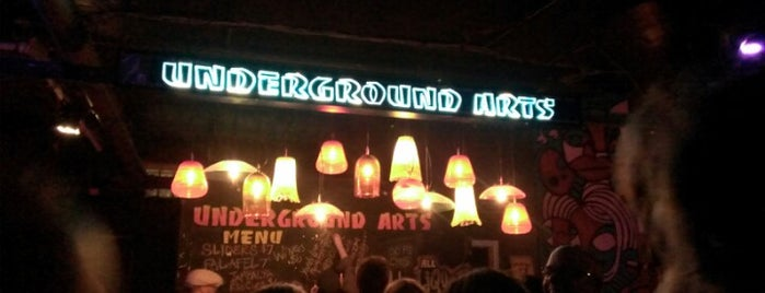 Underground Arts is one of Philadelphia Neighborhoods: Callowhill.