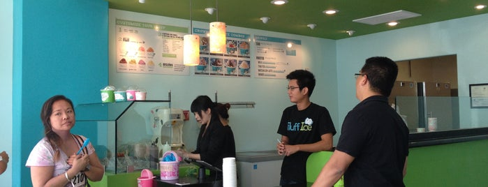 Fluff Ice is one of SoCal Favorites/To-Dos.