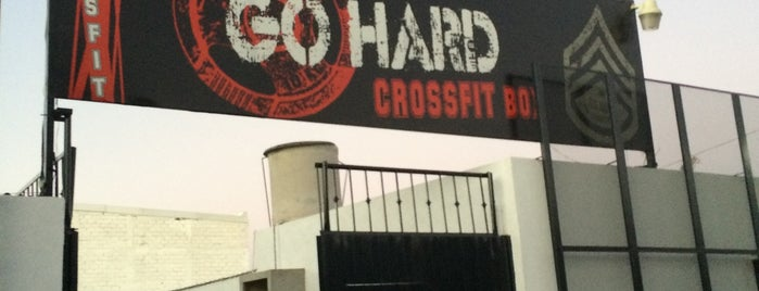 Go Fighters Crossfit is one of Locais salvos de Ana.