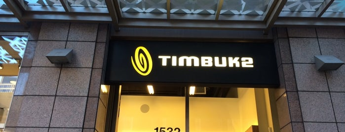 Timbuk2 is one of Seattle.