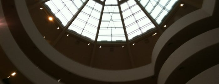Solomon R Guggenheim Museum is one of NYC Summer Activities.
