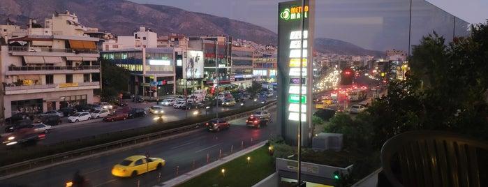 Μπαλκόνι Athens Metro Mall is one of Ifigenia: сохраненные места.