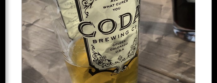 Coda Brewing Co is one of Tappin the Rockies...