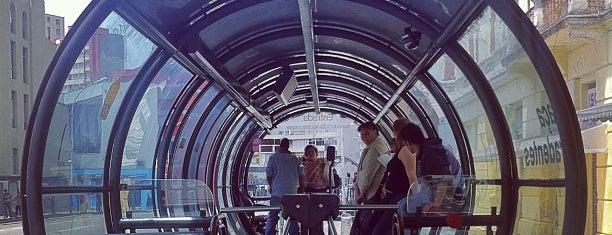 Estação Tubo Praça Tiradentes is one of Curitiba.