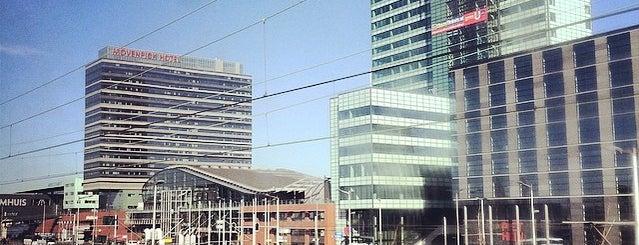 Estação Central de Amsterdãm is one of Netherlands.
