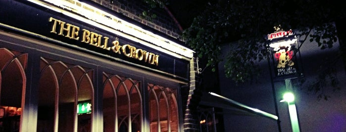 Bell & Crown is one of My London List.