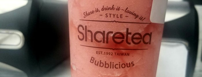 Sharetea is one of Lieux qui ont plu à Andrew.