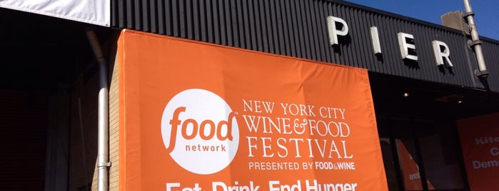 Food & Wine Festival Trade Show is one of ny to do.