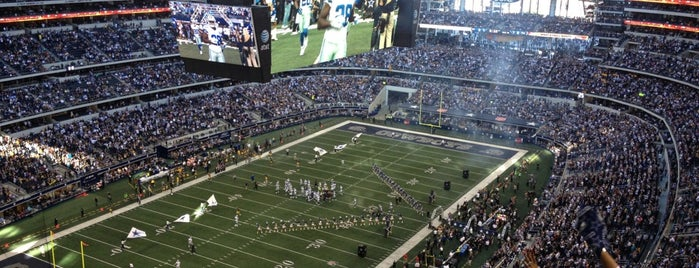 AT&T Stadium is one of Dallas.