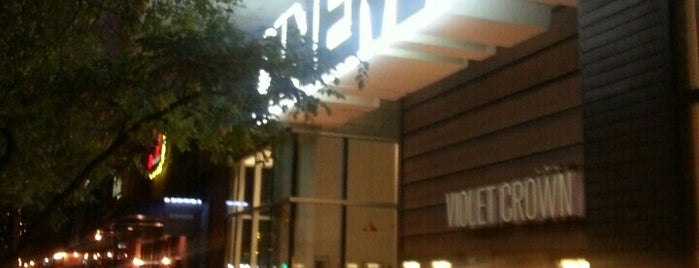 Violet Crown Cinema is one of Austin Favorites.