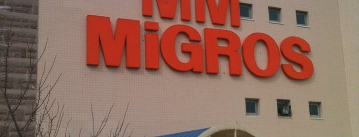 Migros is one of Merveさんのお気に入りスポット.
