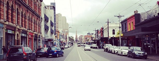 Brunswick Street is one of Jas' favorite urban sites.