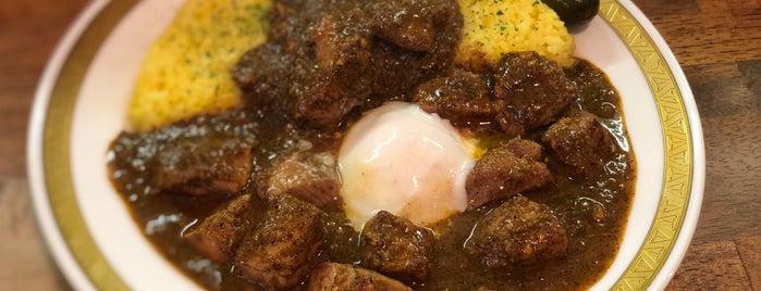 カレーの店 マボロシ is one of カレーが好き☆*:.。. o(≧▽≦)o .。.:*☆.