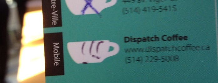 Café Mobile Dispatch is one of Worldwide Coffee Guide.