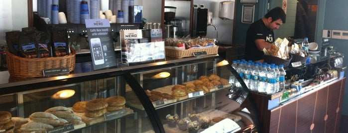 Caffè Nero is one of American Express - Venue list.