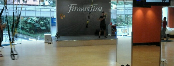Fitness First is one of Orte, die Hardy gefallen.
