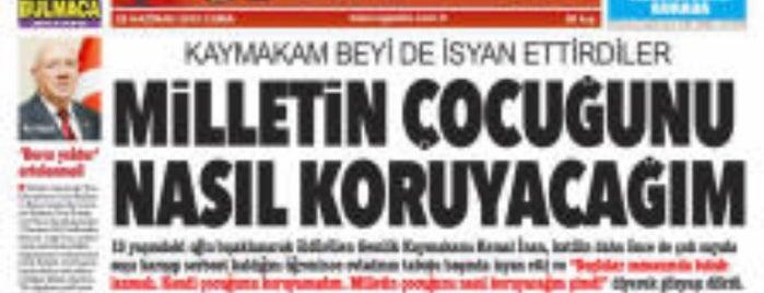 agazete Yıldırım Medya is one of Tempat yang Disukai Bülent.