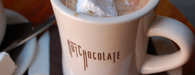 Mindy's Hot Chocolate is one of Best Chicago Brunches, 2015.