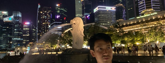 Merlion is one of Singapore.