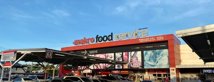 Makro Food Service is one of Tempat yang Disukai Vee.