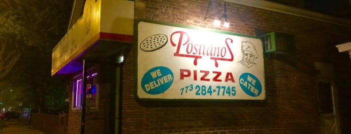 Positanos Pizza is one of Locais curtidos por Diego.