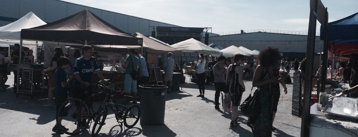 brooklyn flea is one of NY.