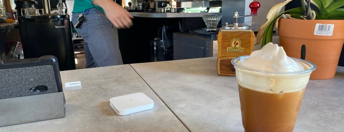 Levercraft Coffee is one of Austin.