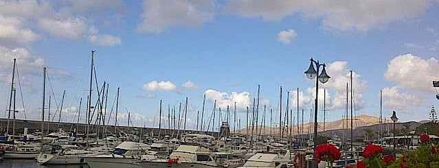 Puerto Calero Yacht Marina is one of Lanzarote, Spain.