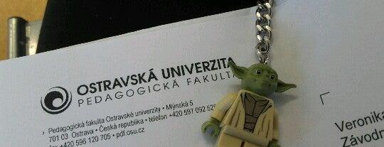 OU - Pedagogická fakulta is one of Lukáš'ın Beğendiği Mekanlar.