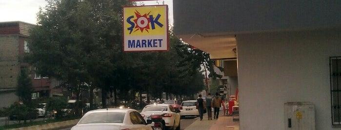 Şok Market is one of Agk 님이 좋아한 장소.