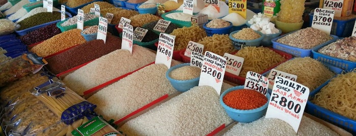 Аския Базар | Askiya Market is one of Orte, die Ali gefallen.