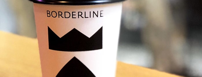 BORDERLINE Coffee is one of Istanbul spots.