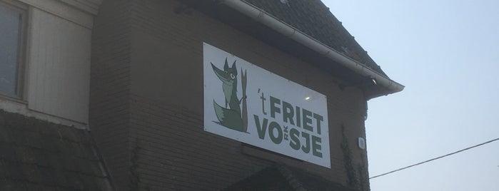 't Frietvosje is one of Locais curtidos por Bix.