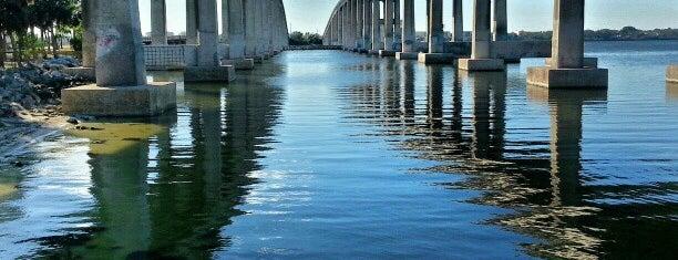 Hubert Humphrey Bridge is one of Discover Florida's Space Coast.